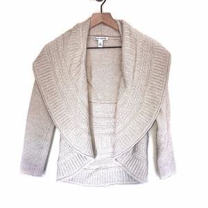 Autumn Cashmere Open Front Cardigan Sweater Jacket